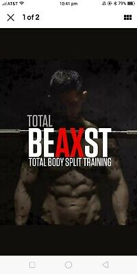Athlean X Total Beast BEAXST Total Body Split Training Guide Download Reddit