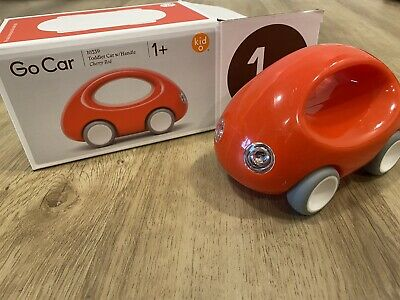 Red Kid O Go Car Early Learning Push /& Pull Toy