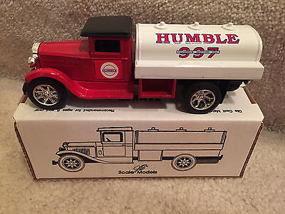 Humble 997 Tanker Truck Bank, Die Cast Metal