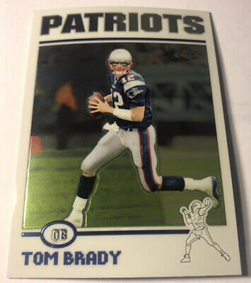 2004 Topps Chrome A Tom Brady #125 New England Patriots