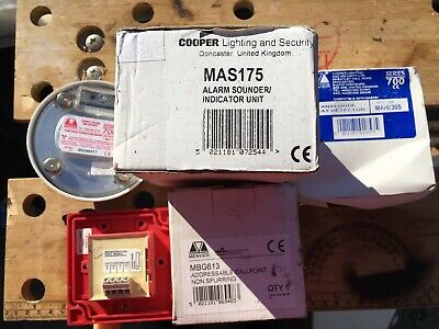 Menvier Fire Alarm Spares 700 /600 Series NEW And USED Items