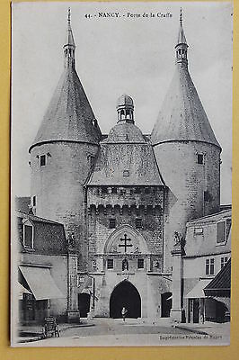 Carte postale ancienne NANCY - Porte de la Craffe