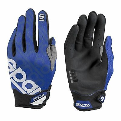 Sparco Mechanic Gloves MECA-3 blue size 9 NEW