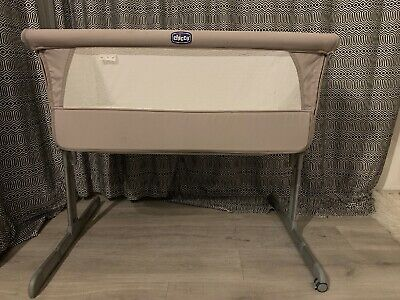 Chicco next to me co-sleeper bedside crib with mattress (chico)
