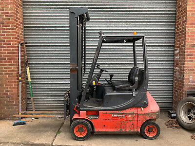 Lansing electric forklift. Comes with charger unit