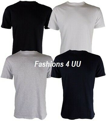 140GSM Cotton Bruntwood Essential Soft Touch Tshirt Mens /& Ladies 4 Pack
