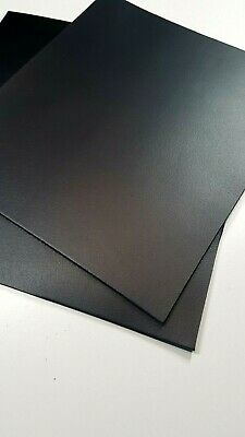 Leather Pieces, Good Quality, Matte Black, Laser Cutting/Etching/Craft
