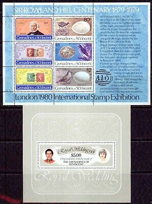 St.vincent (Grenadines) – 1974–1985 – S/S Collection – Vf**