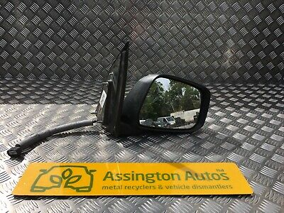 Door Mirror Black Electric With Indicator L//H For Nissan Pathfinder R51 2.5DCi