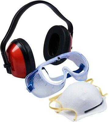 Respirator Mask Goggles 2pc Set Painting Sanding Protect GERMS SELF PROTECTION