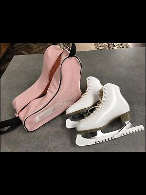 risport Antea ice skates, size 7, with blade guards and carry bag,