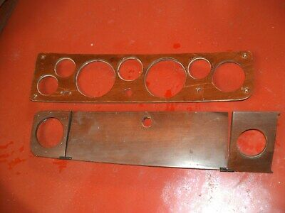 Triumph Dolomite Full Wooden Dashboard sections