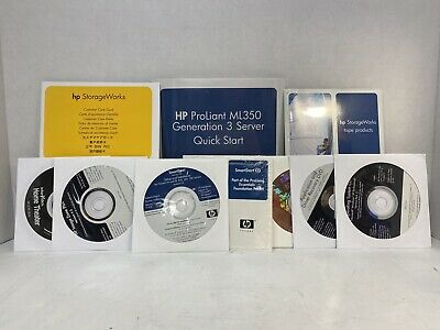 Hp Cd Bundle - Smartstart,Image Zone Plus,Proliant,Intervideo,Storageworks,Xp Os
