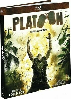 "Platoon (Film de Oliver Stone) Edition Collector ""Digibook"" BLU-RAY NEUF"
