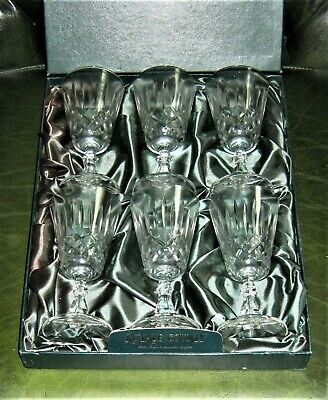 Royal County (Italian) Lead Crystal Wine Glasses (Pre-Owned/Used)