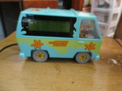Vintage Scooby Doo's The Mystery Machine Alarm Clock