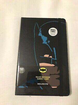NEW Moleskine Batman Barnes & Noble Exclusive Ruled Notebook, Sealed