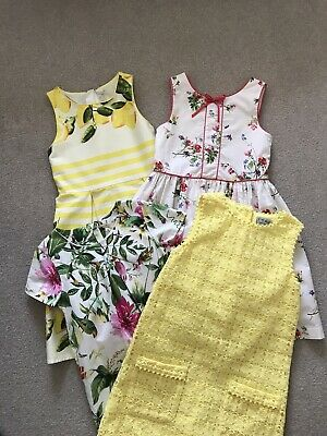 Bundle Of Girls Summer Dresses From Next Age 7-8 Years