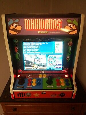 Mario Brothers Arcade 19 Inch Screen This Is Not Raspberry Pi Built It Myself...