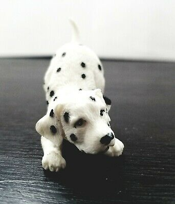 Playful Puppy Dalmatian Vintage Figurine Collectible