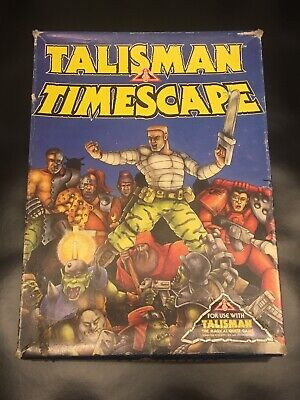 Talisman Timescape Complete Boxed Oop Rare Rpg Vgc Fast & Free Postage