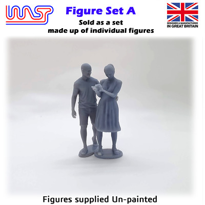 Trackside Figure Scenery Display No 24 New 1:32 Scale WASP