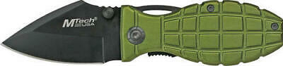 M-Tech 426GN Grenade Tactical Survival EDC Linerlock Folding Knife Pocket Folder