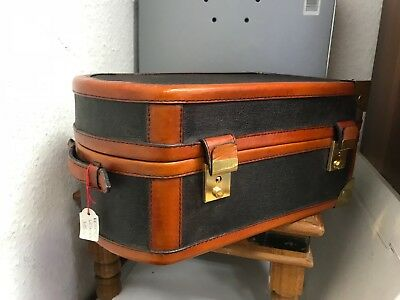 Leather Suitcase 30 Cm. Top Condition