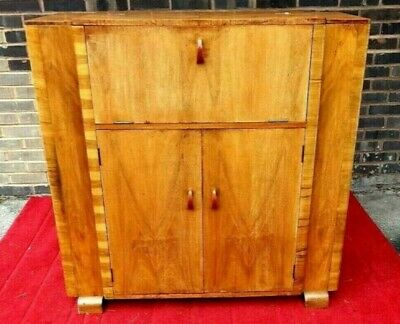 Art Deco Cocktail Cabinet Drinks Chest 1930