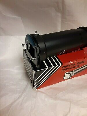 Vintage Cambron Slide Duplicator in Compatible T-Mount Open Box L/N