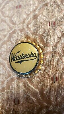 Vintage Waukesha Cork lined Bottle Cap New Old Stock Rare!