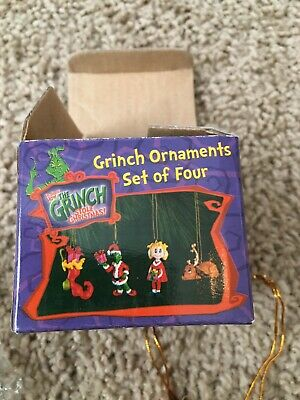 Dr.Suess How The Grinch Stole Christmas Ornaments