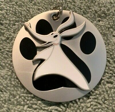 Dsf Dssh Gsf Dog Tag Collection Nightmare Zero Ghost Paw Print Le 400 Disney Pin