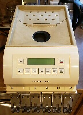 Cummins JetSort 1601 Coin Counter Sorter Money Counter
