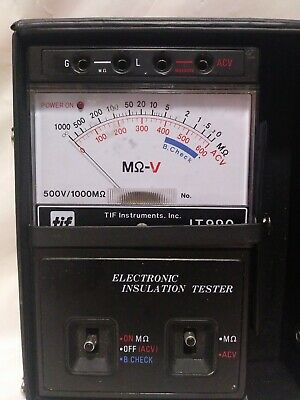 TIF Megohmmeter-Insulation Tester IT990