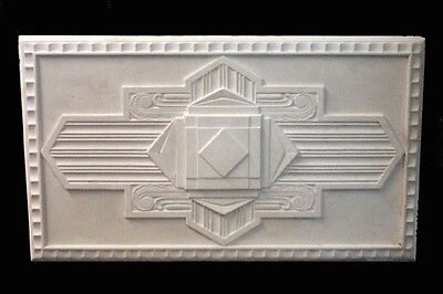 Temporarily Out Of Stock - Art Deco Plaster Ceiling Centre/Rose - Rare