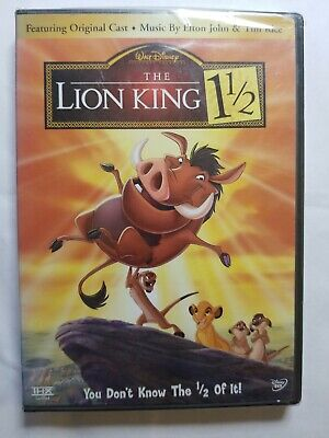 The Lion King 1 1/2 (DISNEY DVD, 2004, 2-Disc Set) -- READ DESCRIPTION