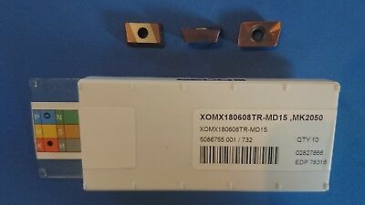 SECO XOMX180608TR-MD15 MK2050 Inserts