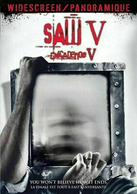 Saw V  (Bilingual Edition)  [DVD] New and Factory Sealed!!