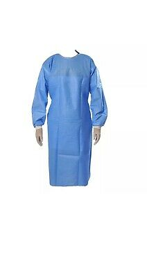 Disposable Surgical Gowns Medical Protective Clothing Elastic Cuff !