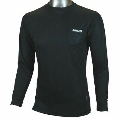 Bikeit Long Sleeve Premium Coolmax Wicking Motorcycle Motorbike Base Layer