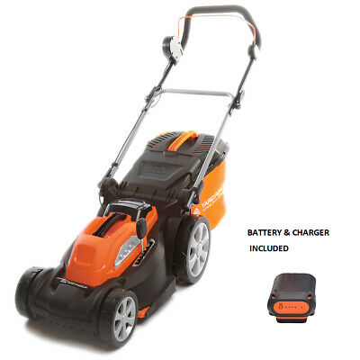 Yard Force Cordless Rotary 34cm Lawnmower with battery and charger- 40V