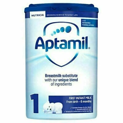 5 x Aptamil 1 800g - First Infant Milk from birth Pack of 5