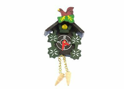 Cuckoo Clock Brooch Wall Clock Black Forest Miniblings Pin Oktoberfest XL