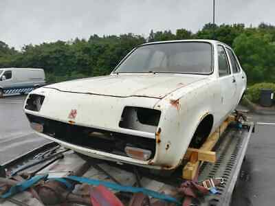 1984 Vauxhall Chevette ex West Yorkshire Police, rare project, never been mot'd