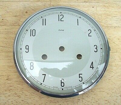 Genuine Smiths Enfield Bakelite Clock Bezel with Glass and Dial