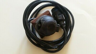 12N 7 Pin Towing Electrics Plug & Socket With Over 3M Of 7 Core Cable