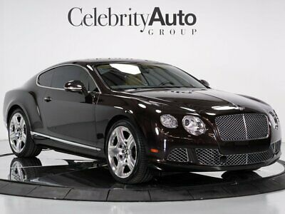 2012 Continental GT Mulliner Driving Specification 2012 BENTLEY CONTINENTAL GT W12 MULLINER DRIVING SPECIFICATION