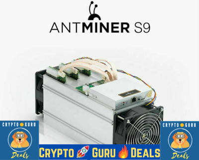 Bitmain Antminer S9 🔥 *FREE PSU APW3 * Tested BTC Miner S9 USED USA Not S17 M20
