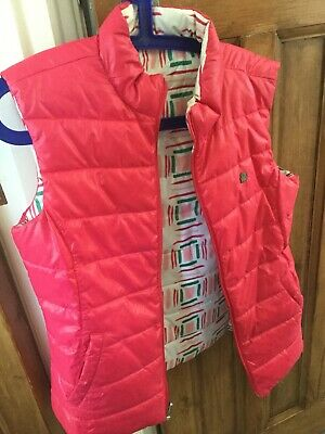 Girls reversible Benetton jacket/ gilet age 13/14